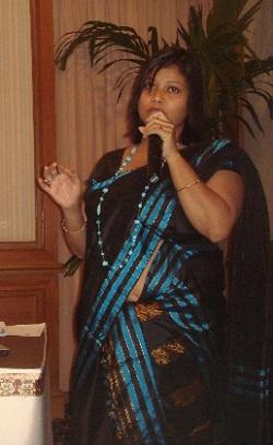 State Family Planning coordinator Chandana Bora speaking at the consultation