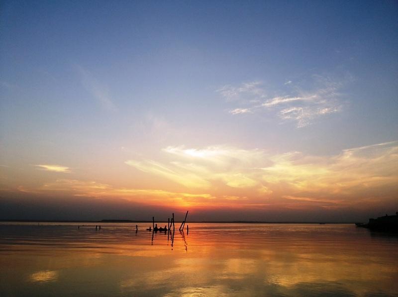 Sun set at Barpeta's Bahari Ghat Photo Credit: Mohd Abdul Halim