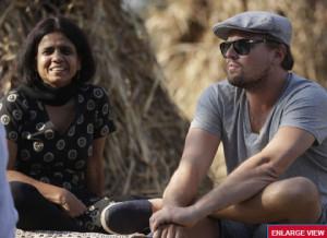 Leonardo DiCaprio visits Haryana village