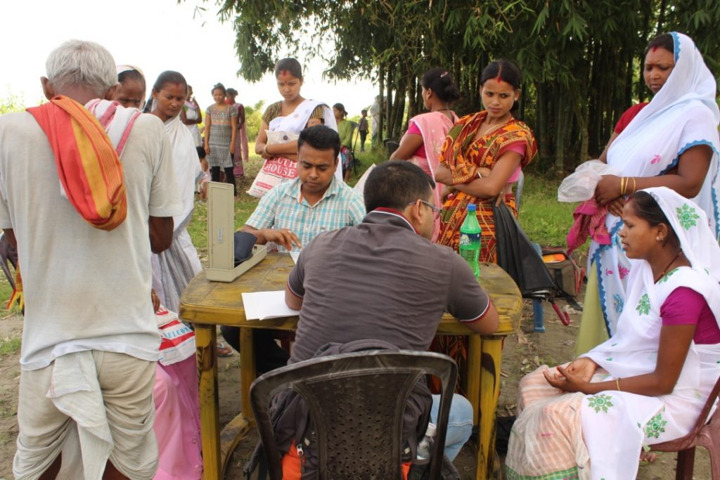 Medical Officers in Jorhat spend countless hours patiently dealing with the patients as they counsel them along with prescribing them medicines