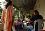 Film crew in action at Borhat, Sibsagar