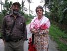 Sanjoy Hazarika, Project Director with Preeti Gill, ( Editor of Zubaan),Assistant Project Director at Sibsagar district Assam.
