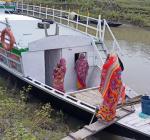 Immunization programme at Bongaigaon boat clinic