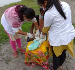 routine-immunization-done-by-ANM-Dharitri-Das-at-Chengajaan-