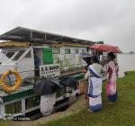 Jorhat Boat Clinic programe at Bhekeli Sapori, Kartik sapori, Kathsapori, Kachikota, Baruahchuk, Kankurmukh Sapori of Majuli.
