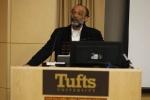 C-NES  Managing Trustee Sanjoy Hazarika speaking at the  2010 EPIIC international Symposium at Tufts University after receiving the