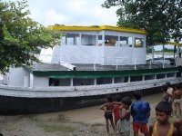 SB Rustam, the new Dhubri boat clinic functioning from August 2008