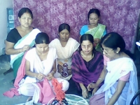 A three months Vocational training for girls in the Lahoal and Panitola blocks of  Dibrugarh district commenced from August 2008