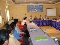 """The Centre for North East Studies and Policy Research (C-NES) in association with Bharatiya Cha Parishad (BCP) organized two back-to- back workshops at Dibrugarh supported by the Ministry of DoNER: the first on """"The Look East Policy (LEP) with perspectives from the North East and South East Asia and a special focus on the Green Economy and Cultural connectivity"""" on Sep 5 and the second on"""" Infrastructure Development, with a focus on new technologies and energy"""" on the following day, September 6, 2008. The workshop on the Look East Policy in progress at Dibrugarh on 5th September, 2008"""