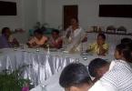Hiramoni Bharali, President, Rangamati Gram Panchayat, Darrang District  speaking at the seminar.