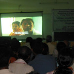 The Dibrugarh screening at DRDA Training Hall