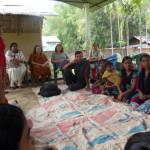 Narrow casting session at Maijan TE